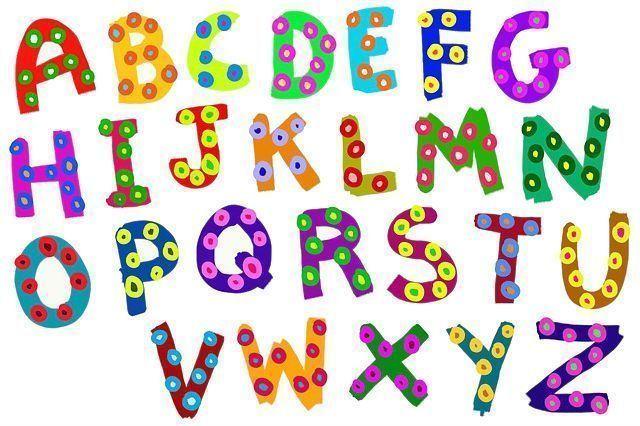 abecedario en inglés