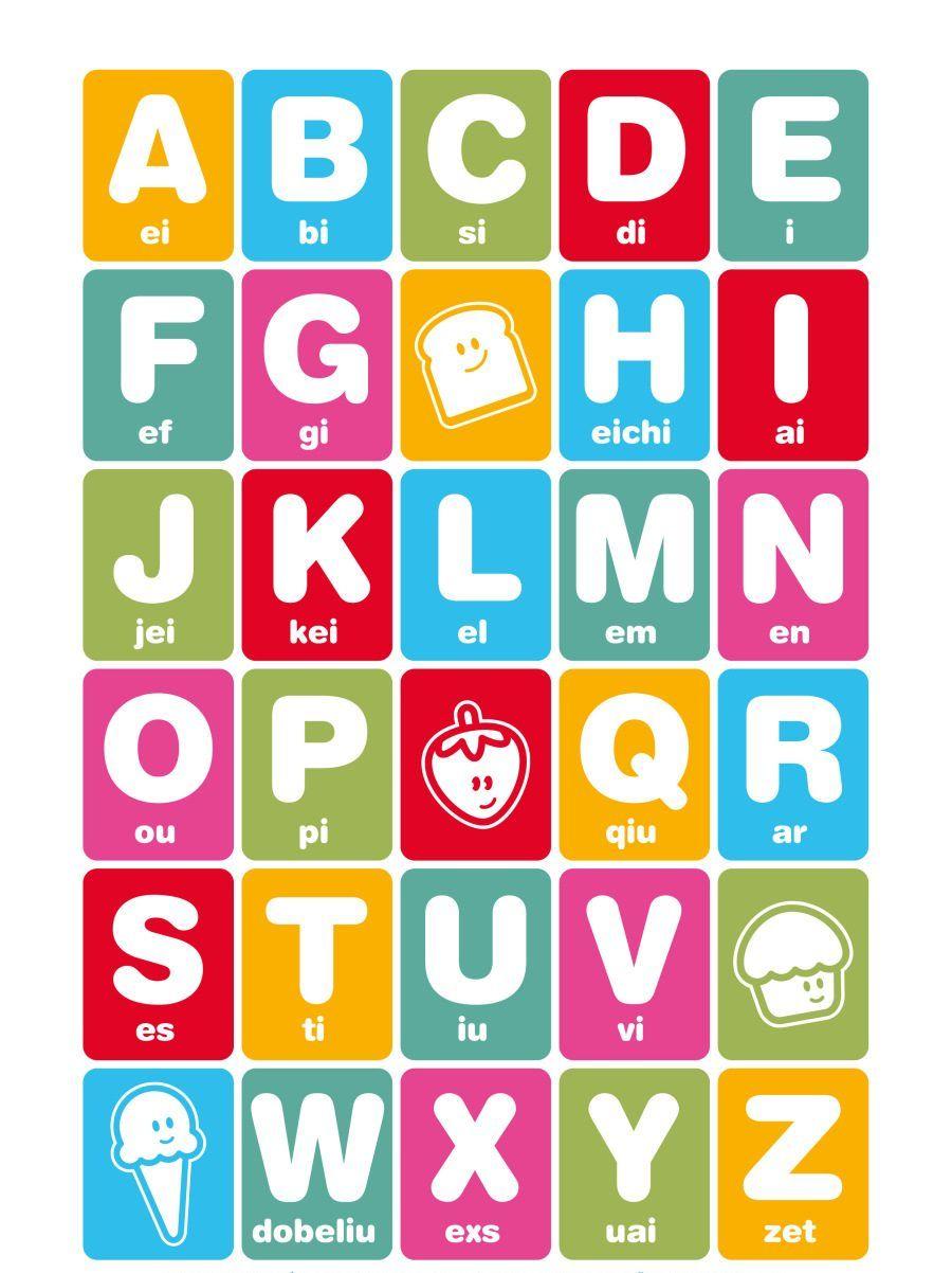 Images de l'alphabet en anglais