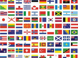 Nacionalidades en Inglés