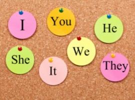 Pronombres en inglés